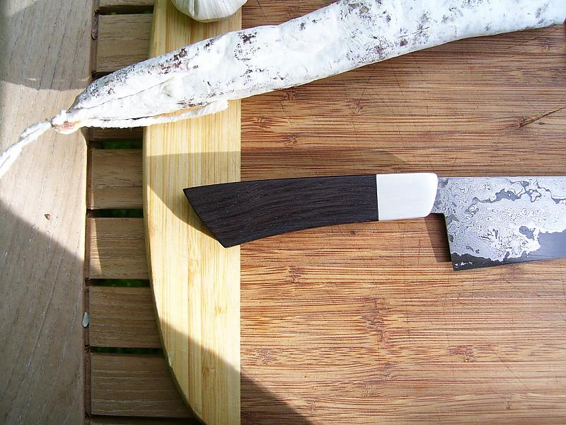 handgeschmiedete messer chefmesser silber mooreich. Black Bedroom Furniture Sets. Home Design Ideas